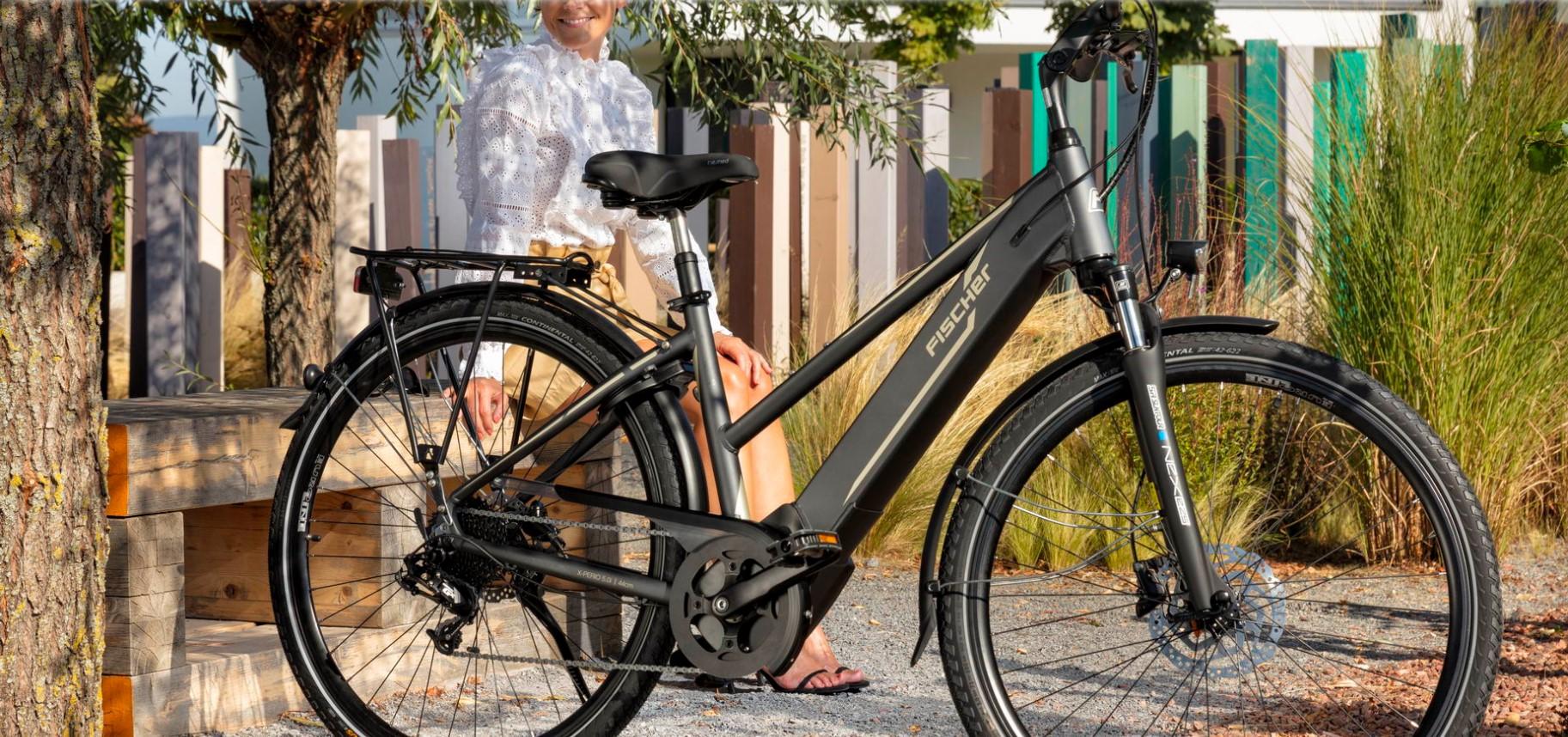 Fischer Viator 5 -kaupunkisähköpyörä on tyylikäs ergonominen ajaa