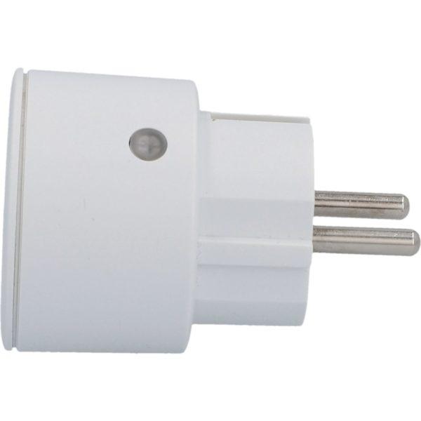Unitec Kauko-ohjattava Mini pistorasia 3-osaa valkoinen | Masco Oy