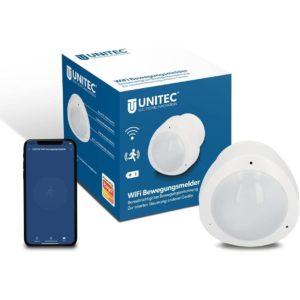 UNITEC WiFi Älykäs ja etäohjattava liiketunnistin | Masco Oy