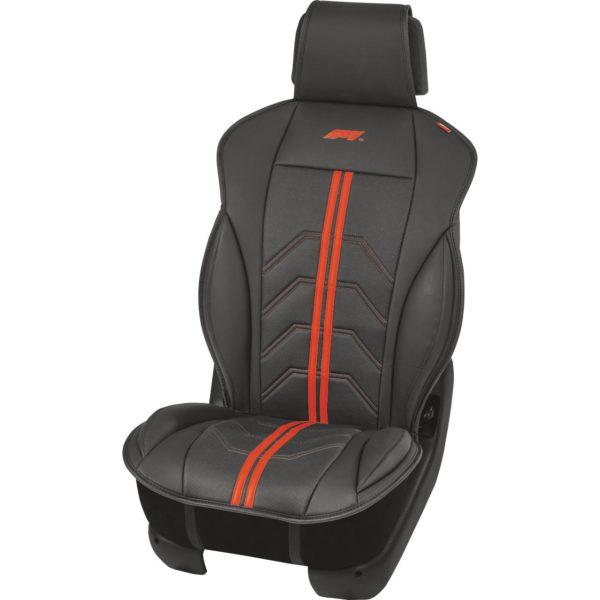 Hengittävä Istuinsuoja autoon SC160 punainen | F1® autotarvikkeet Masco Oy Järvenpää